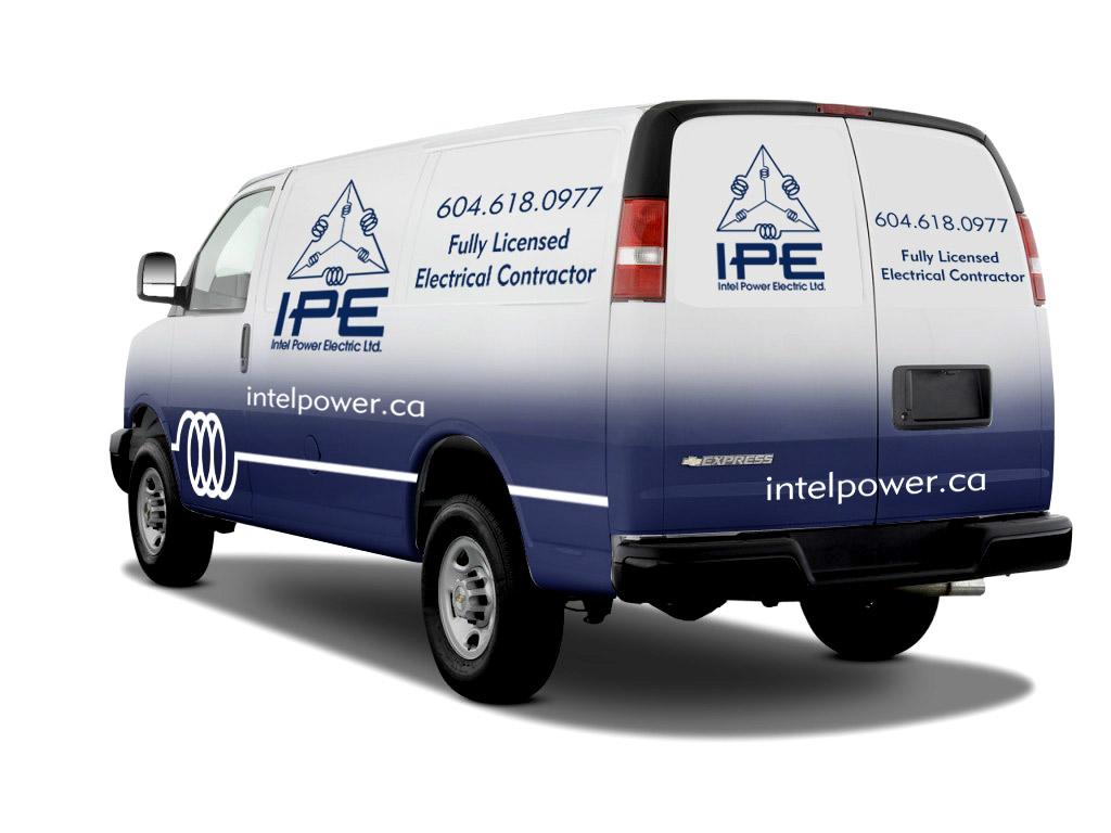 Home and Industrial Wiring Van